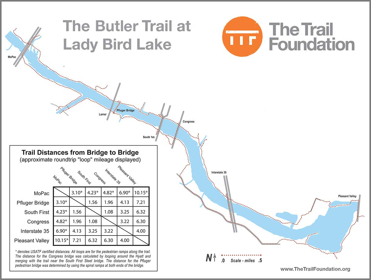 town lake hike and bike trail map with Butler Trail Maps on Madison Blue Spring State Park moreover Briggs Woods County Park in addition runwhiskeytown furthermore The African Americans Of Nebraska moreover High Cliff State Parkand8230a Geological Gem.